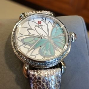 Michele limited edition garden party watch